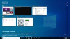 Desktop-urile virtuale reprezintă o funcție foarte populară pe Linux sau Mac, dar abia în Windows 10 au beneficiat de o implementarea inteligentă din partea Microsoft. Using Windows 10, Windows 8, Windows 10 Microsoft, Windows 10 Versions, Desktop Icons, New Operating System, Desktop Windows, Desktop Publishing, Pop Up Window