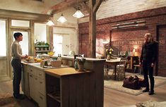 Once Upon a Time~ Mary Margaret's Flat~ Kitchen/Dinning Area