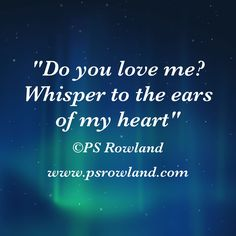 Poetry by PS Rowland