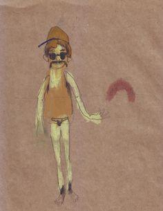 Peyote Pastelli ad olio e grafite su carta spolvero
