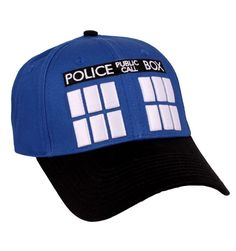 Casquette Doctor Who Officielle - Tardis Doctor Who Tardis, Dr Who, Base Ball, Latest Tops, New Outfits, Hats, Officiel, Collection, Baseball Caps