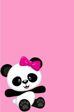 Panda Themed Party, Panda Birthday Party, Bear Party, Cute Panda Wallpaper, Disney Wallpaper, Panda Wallpapers, Cute Wallpapers, Panda Baby Showers, Birthday Card Template