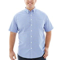 The Foundry Supply Co.™ Short-Sleeve Oxford Shirt–Big & Tall  found at @JCPenney