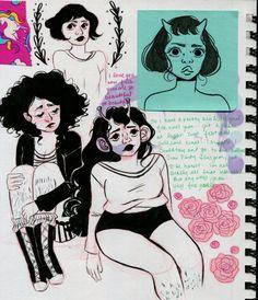 """mermaidblobs: """" new journal. yee. """""""