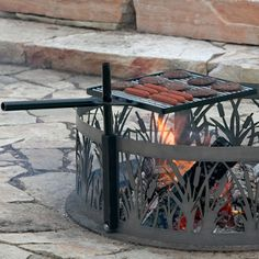 P & D Metal Works Campire Cooking Grill