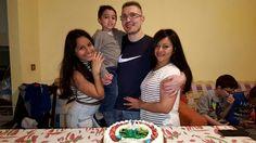 Cugino Lino con famiglia