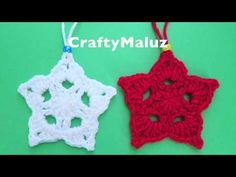 CraftyMaluz SUSCRIBETE A MI CANAL ES GRATIS! PARA MAS VIDEOS ! SUSCRIBETE A MI NUEVO CANAL DE (PEINADOS) MaluzStyles SUSCREBETE AL CANAL DE VANESSAMARIE15 Lana, Crochet Earrings, Crafty, Christmas Ornaments, Holiday Decor, Hair Styles, Blog, Videos, Youtube