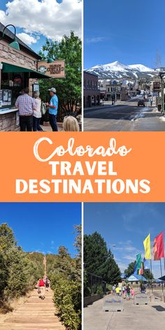 Are you ready to create your Colorado bucket list? Check out the top 16 must-see things we recommend adding to your list. Road Trip To Colorado, Moving To Colorado, Visit Colorado, State Of Colorado, Colorado Springs, Visit Usa, Visit Canada, Royal Gorge, Continental Divide