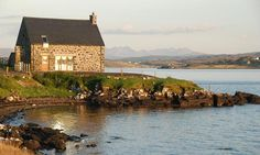 Stay in a converted boathouse on the Isle of Skye