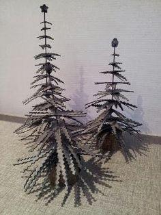 KIRKEBY: Smukke mørke juletræer