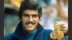 Juegos Olímpicos Munich 1972,Alemania. Mark Spitz consigue 7 medallas de oro en natación.