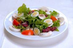 Lyonnaise salad.