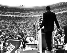 """Today we celebrate Dr. Martin Luther King, Jr.'s famous """"I Have A Dream"""" speech in Washington, D.C., but did you know that MLK first gave this speech on Sunday, June 23, 1963, in Detroit, MI at Cobo Hall? http://1.usa.gov/1dPaXeG"""