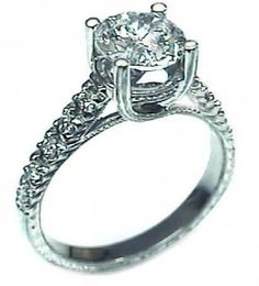 Unique Engagement Rings : Solitaire Engagement Rings