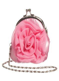 Latest Handbags, Girls Hand, Little Bag, Silver Metal, Kids Bags, Pink bbd8dd2d89