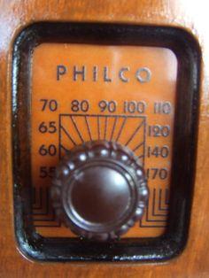 """Philco 84B (1935) """"Antique radio"""", """"Tube radio"""""""