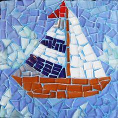 Fish Mosaic Kit Arte Para Ni 241 Os Mosaic Crafts Mosaic