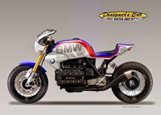 """Cafè Racer Concepts - BMW K100 """"Dicke Bertha"""" by Oberdan Bezzi"""