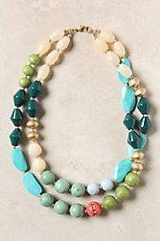 so i will match my beach house...gotta love it! love the colors and different beads...working it!