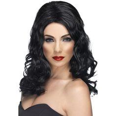 Glamorous Wig Black