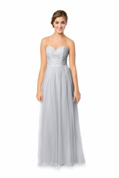 ❤️ I like the top lace part. Would add a sparkly belt.   Bari Jay Bridesmaids   Bridesmaid Dresses, Prom Dresses & Formal Gowns: Bari Jay and Shimmer