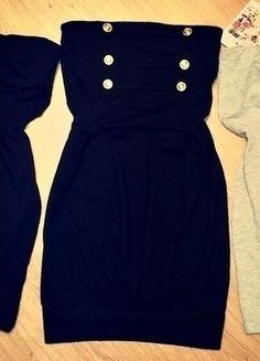 Kup mój przedmiot na #vintedpl http://www.vinted.pl/damska-odziez/krotkie-sukienki/13045415-zestaw-nowych-sukienek-czarne-szara-guziczki-wiosna-lato
