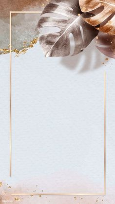 phone wall paper floral Gold frame with metallic monstera leaf mobile phone wallpaper vector Phone Wallpaper Images, Iphone Wallpaper Fall, Framed Wallpaper, Wallpaper Panels, Pretty Backgrounds For Iphone, Camera Wallpaper, Flower Background Wallpaper, Flower Backgrounds, Gold Glitter Background