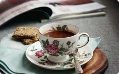 Treat yourself to homemade hot chocolate.