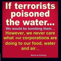 #CorporateTerrorism