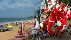 Goa is also most famous tourist destination specially on two big event which held on end of the new year where huge number of tourist comes from  across the world to enjoy with their family, friends and loved ones, Entire city on Christmas is decorated to celebrate this day specially teens are feel excited on Christmas because they know santa will come and gives some gifts and chocolates so they Early waiting from 24 December night.