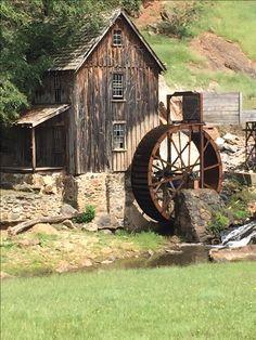 An Old Mill in Canton, Georgia