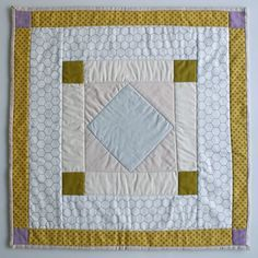 Mini Quilt of the Month, October: Amish Diamond | Purl Soho - Create