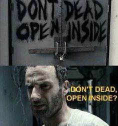 That were exactly my thoughts when I watched the first The Walking Dead episode http://hugelol.org/lol/75480