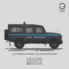 KombiT1: Land Rover Defender - Polizia Penitenziaria