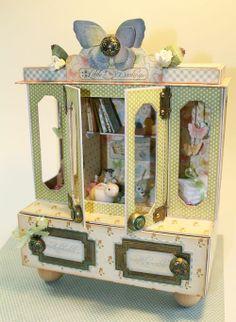 Graphic45 Laura Denison Little Darling Cabinet
