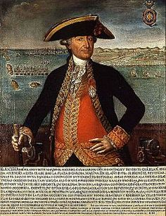9º Capitán General de la Armada Española. José Solano y Bote Marqués del Socorro 1802