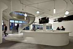 Inspirerend: Wieden+Kennedy's kantoor in New York http://www.kantoorruimtevinden.nl/blog/inspirerend-wieden-kennedys-kantoor-new-york/