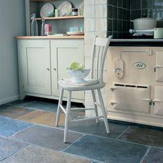 Slate Kitchen Floor | Slate Floor Tiles Is An Ideal Home Improvement Floor Choice | Home ...