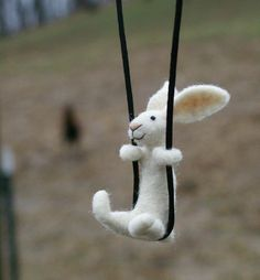 felt bunny.