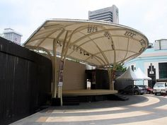 K Festival and Outdoor Event Stage Hire Solutions! Visit Our Website Today To Browse Our Various Stage Hire Packages for London and Surrey! Outdoor Stage, Outdoor Pavilion, Outdoor Theater, Outdoor Venues, Vintage Architecture, Space Architecture, Concert Stage Design, Open Air Theater, Pavilion Design