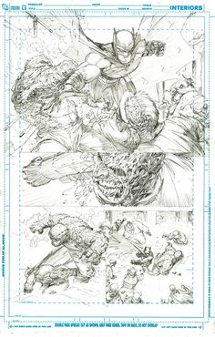 Awesome Greg Capullo Batman pencils