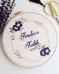 Hand Embroidery Patterns Free, Border Embroidery Designs, Hand Embroidery Art, Hand Embroidery Projects, Hand Embroidery Videos, Embroidery Hoop Crafts, Wedding Embroidery, Simple Embroidery, Embroidery Kits