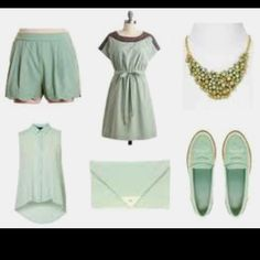 I'm in love with mint right now
