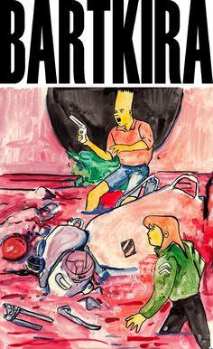Bartkira 1 | by: Ryan Humphrey | via http://ryanhumphrey.co.uk/Bartkira