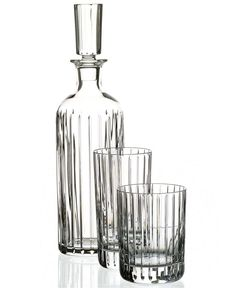 Refined elegance simply stated, the way only Baccarat can. The Harmonie Collection features evenly spaced vertical cuts on handmade crystal of the highest quality. A dashing pattern that suits modern Bottle Vase, Vodka Bottle, Traditional Taste, Luxury Bar, Bar Drinks, Beverage Bars, Whiskey Decanter, Crystal Collection, Carafe