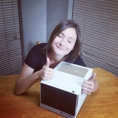 #AMDRTP #payitforward build. Not only did she learn to build a computer but she was very surprised she had built it for herself. Thanks to Visiontek TornTV NocturneKittie and of course AMD. by kelleytech