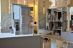Bartlett School of Architecture, Year 1 Architecture, Cara Williams, Building model, magicians house, 2013