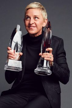 Ellen DeGeneres Just Became the Most Decorated People's Choice Winner in History