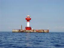 Leuchtturm Kiel Stockbild