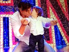 Shahrukh Son Abram first look reviled with 'Happy New Year'